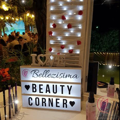 Un rincón muy especial en tu boda, Beauty Corner o Rincón de Belleza.