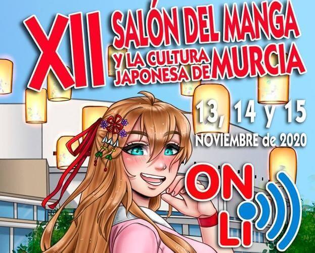 Maquillaje en el Salón Manga de Murcia 2020